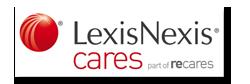 Logo LexisNexis Cares